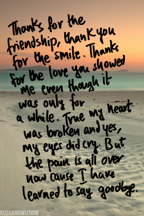 cute goodbye quotes quotesgram