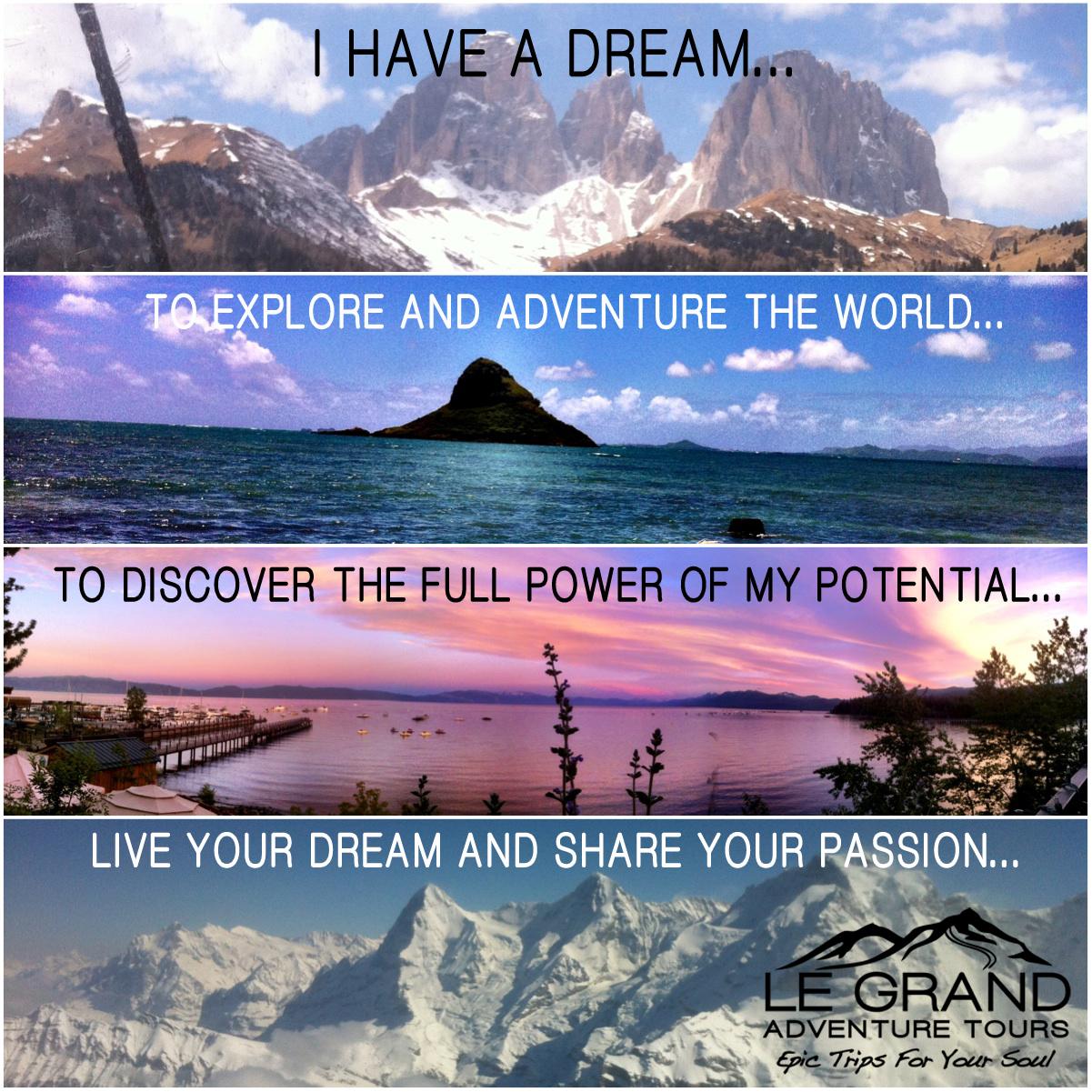 My Top Dream Destinations