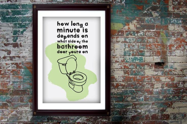 Bathroom Inspirational Quotes Quotesgram