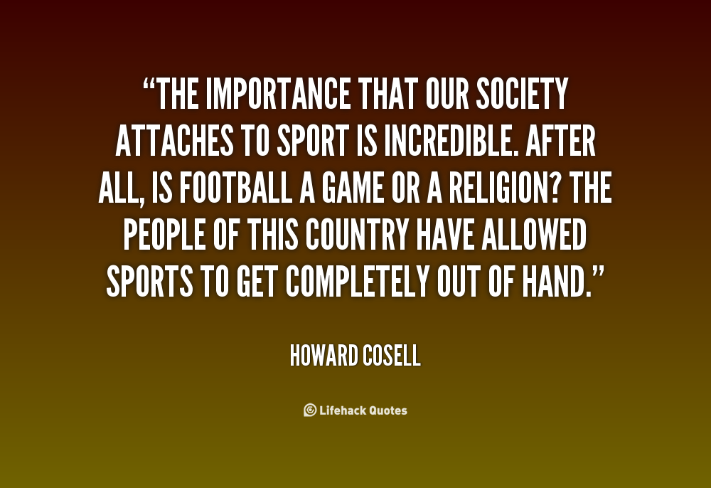 Howard Cosell Quotes Quotesgram