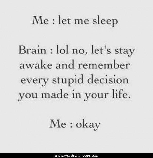 Funny Insomnia Quotes Quotesgram