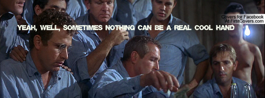 a touch of sarcasm in the movie cool hand luke A portion of the famous attempt by luke (paul newman), coached by dragline ( george kennedy), to eat fifty hard-boiled to eggs win a prison bet in cool hand.