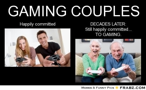 Funny Memes For Couples : Gamer couple quotes quotesgram