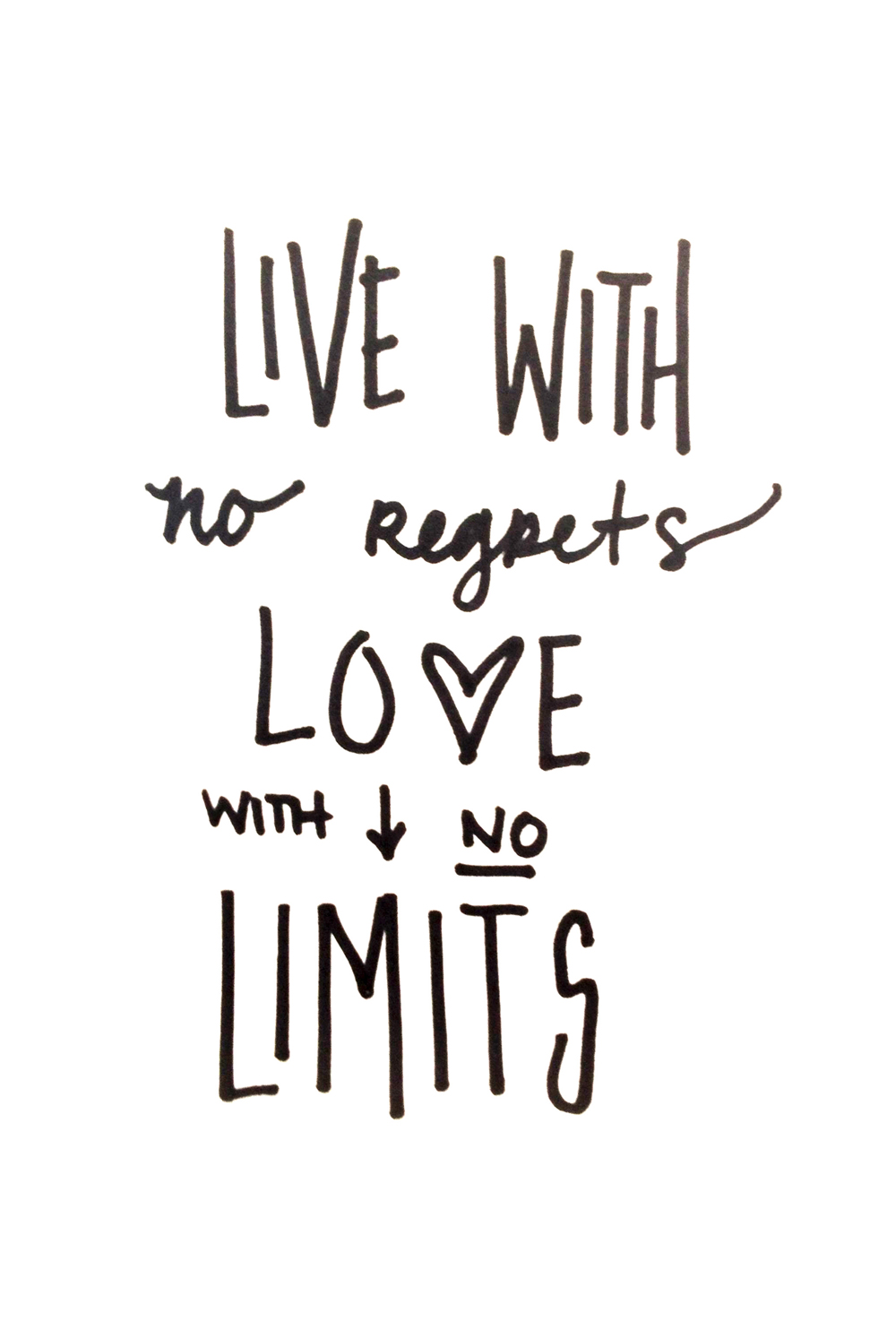 living a life with no regrets How to live life with no regrets regret can be a powerful barrier to living the life you want it's never too late, however, to turn your life around you can begin to appreciate each day without the burden of a past full of regrets find.