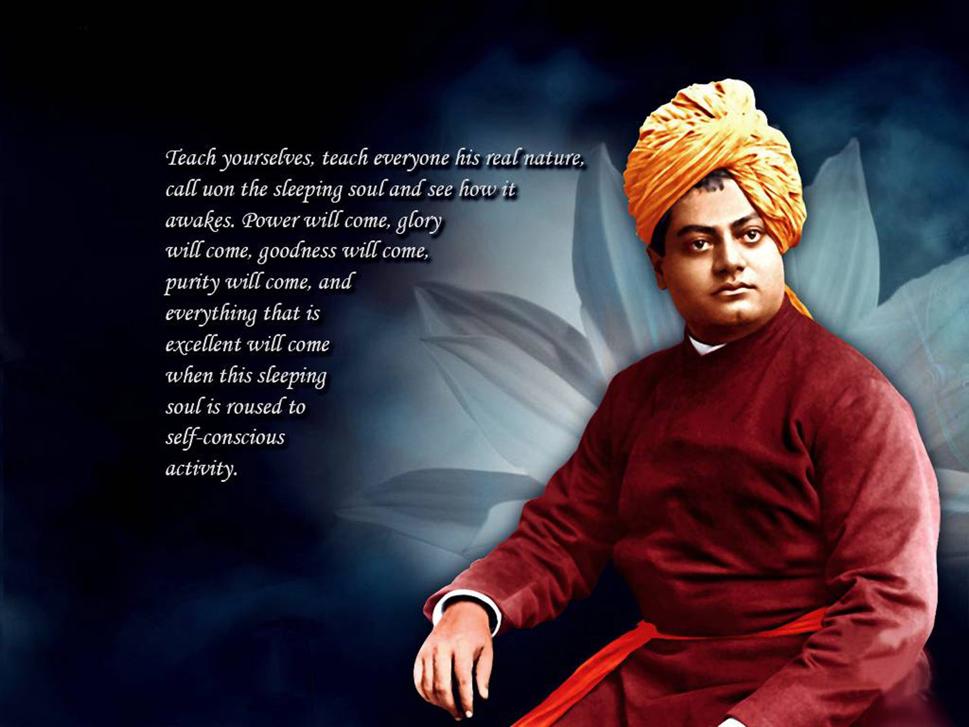 patriotism in the eye of swami vivekananda We live in times where patriotism has been reduced to celebrating by bursting firecrackers after india wins a cricket nationalism and swami vivekananda.
