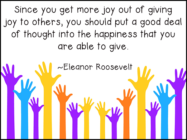 Joy In Giving: Joy Of Giving Quotes. QuotesGram