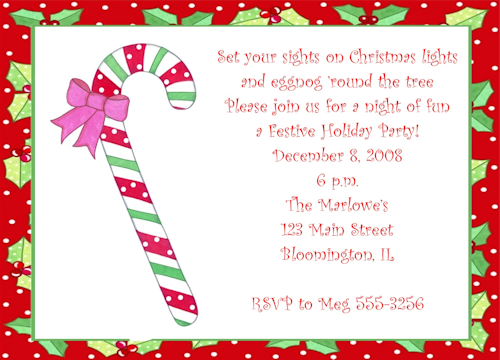 Doc420278 Funny Christmas Party Invitations Wording Christmas – Party Invite Poems