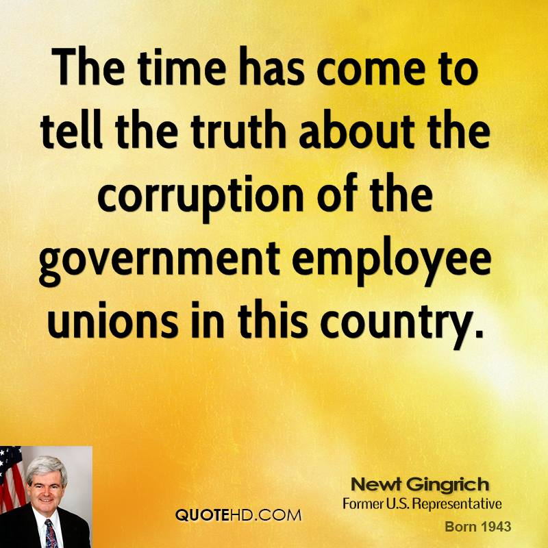 corrupt government in the grapes of