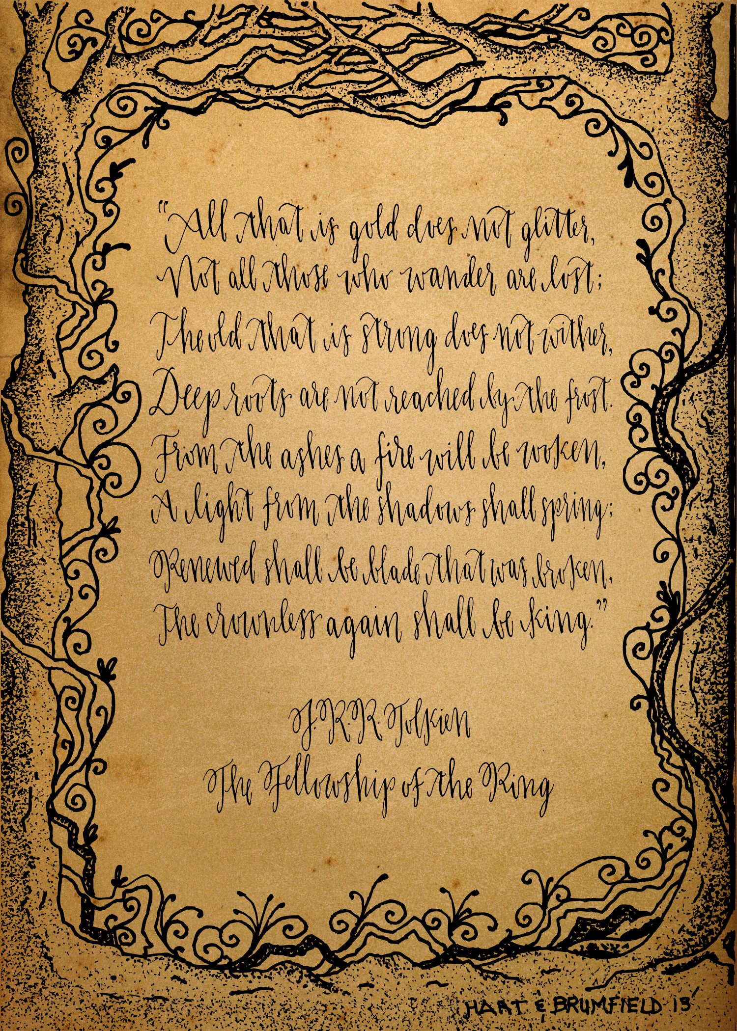 jrr tolkien travel quotes