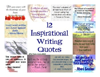 inspirational quotes for writers quotesgram