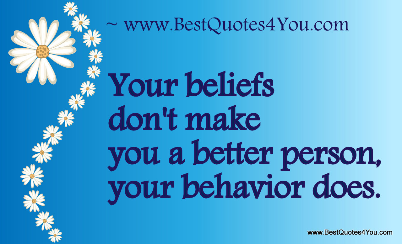 Quotes About Good Behavior. QuotesGram