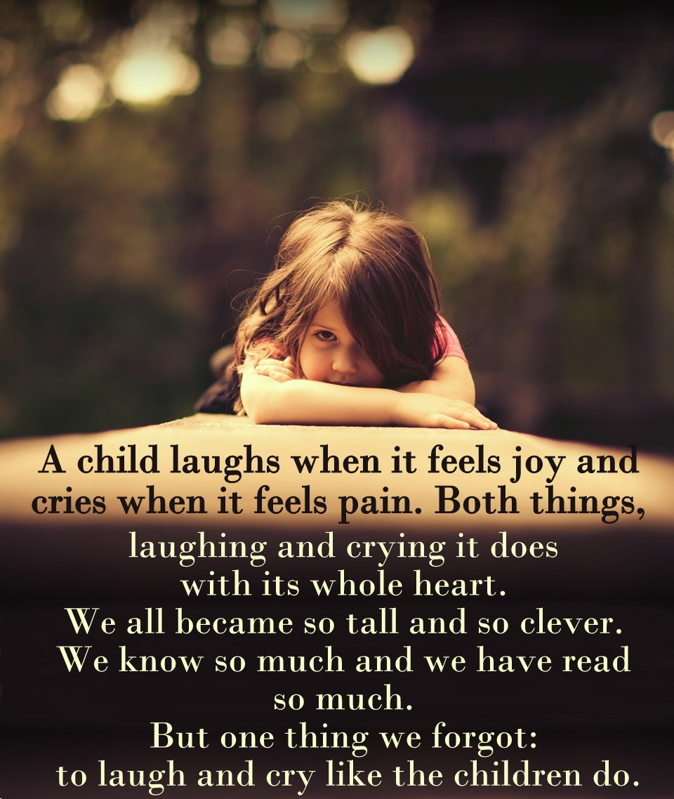 When A Child Breaks Your Heart Quotes: Crying Quotes Pain. QuotesGram