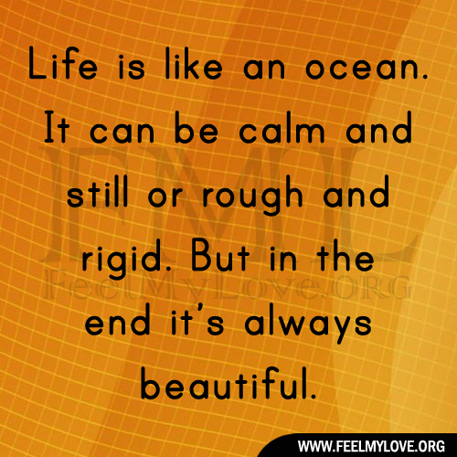 life is like an ocean The third type of sea animal spends its entire life on or in the ocean bottom this group of marine animals is called the benthos it includes lobsters, starfish, various worms, snails, oysters and many more.