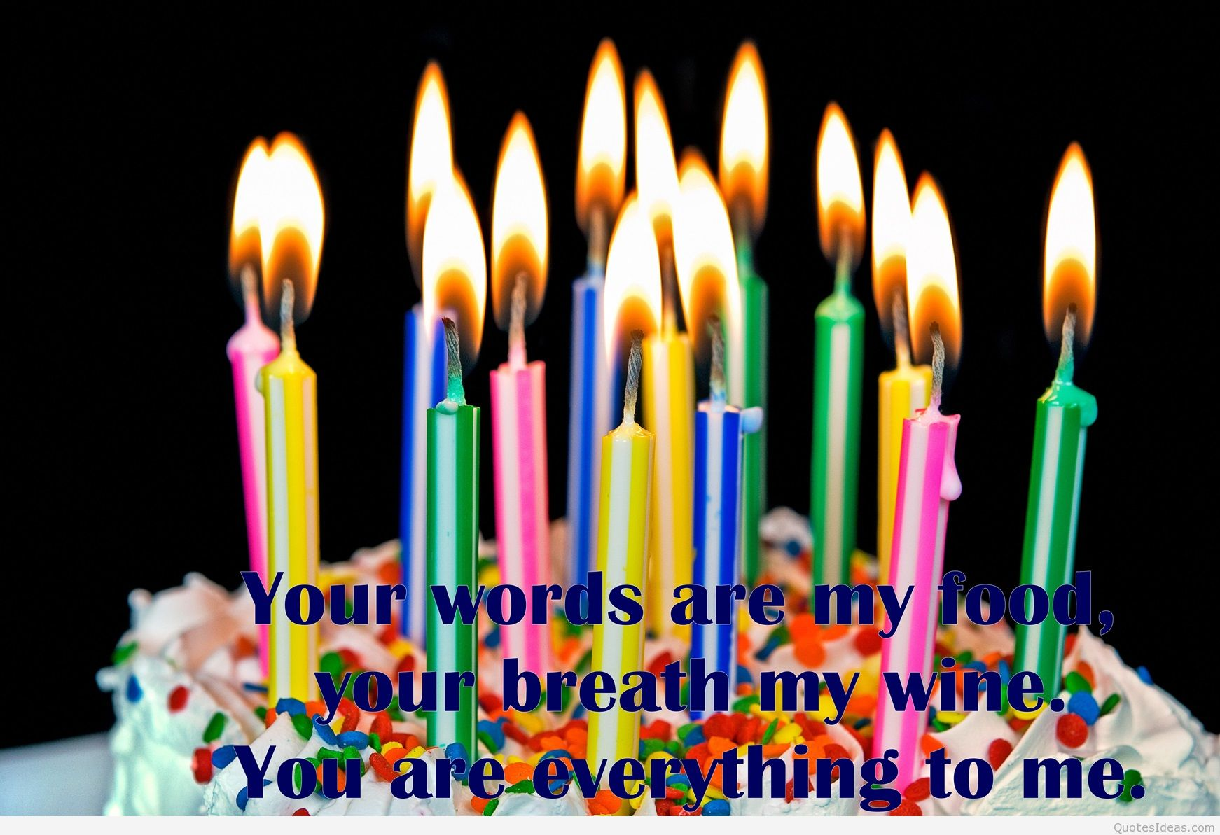 Birthday Candle Quotes Quotesgram