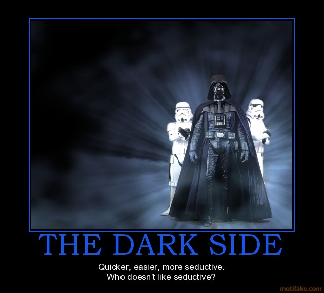 Quote Star Wars: Star Wars Dark Side Quotes. QuotesGram