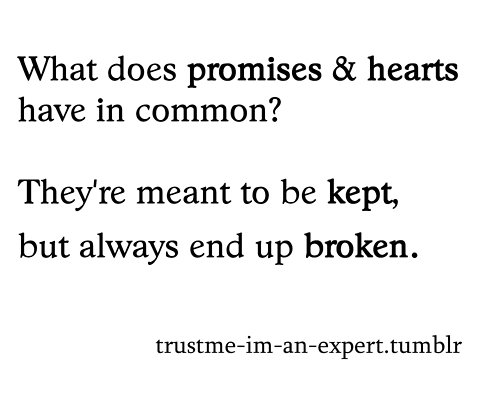 false promises in a relationship