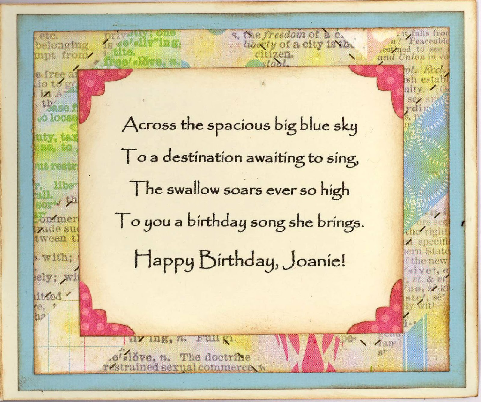 Across The Miles Birthday Quotes Quotesgram