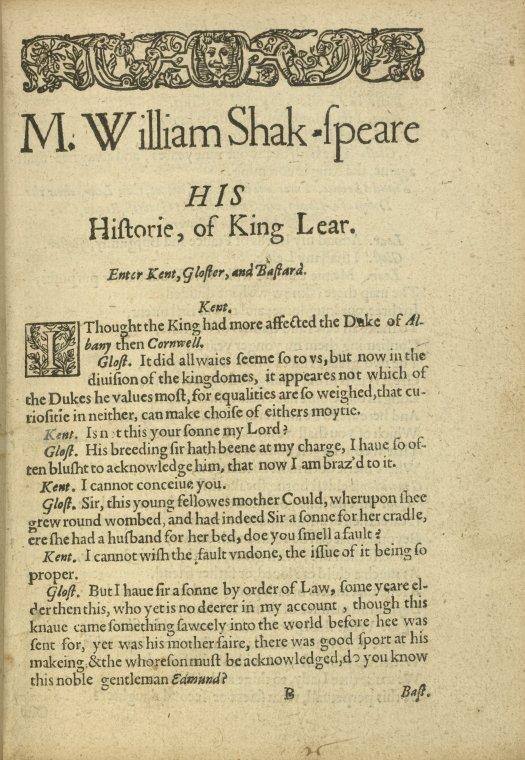 King Lear Critical Essays