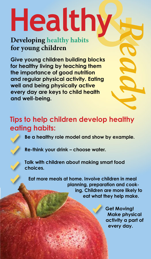 Healthy eating habits for everyday living