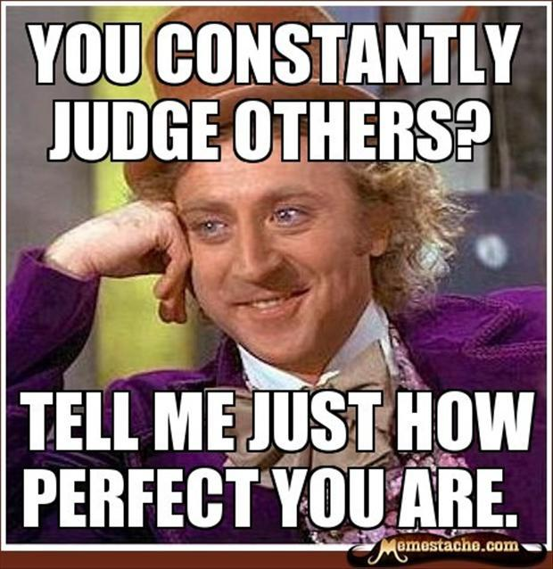 Factory Girl Quotes: Funny Quotes About Judging Others. QuotesGram