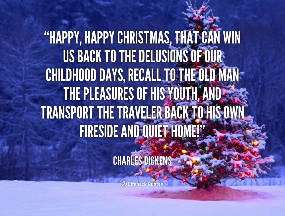 Christmas Quotes 21 Inspirational Sayings To Share During: Charles Dickens Christmas Quotes. QuotesGram