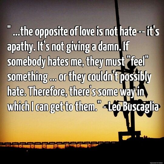 Apathy Quotes: Leo Buscaglia Quotes On Apathy. QuotesGram