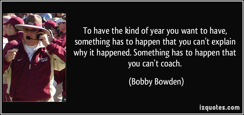 Bobby Bowden Motivational Quotes Quotesgram