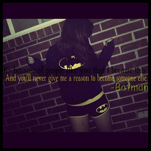 Cute batman quotes