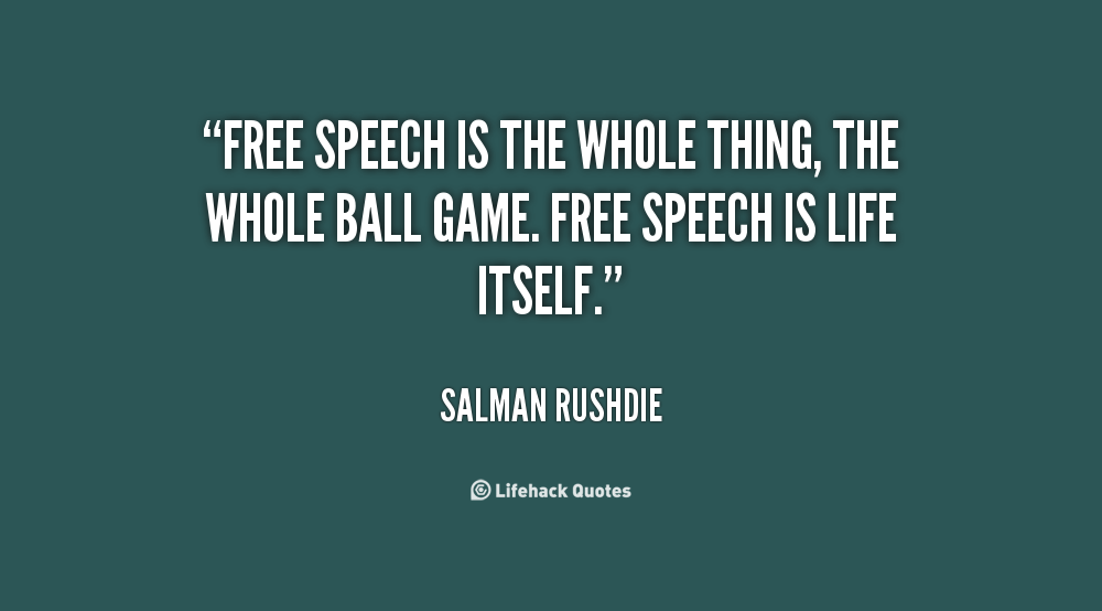 the power of freedom of speech Discover more about freedom of expression around the world • laws against hate speech or other incitements to information is power and the internet has the.