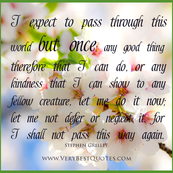 Inspirational Quotes For Kindness Day: Best Quotes About Kindness. QuotesGram