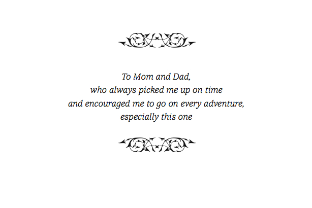 best thesis dedication quotes Dedication this work is dedicated to my husband, john a murphy, without whose caring support it would not have been possible, and to the memory of my parents.