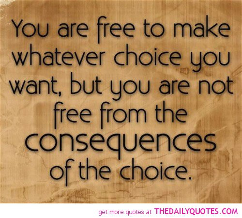 Choices Life Quotes. QuotesGram