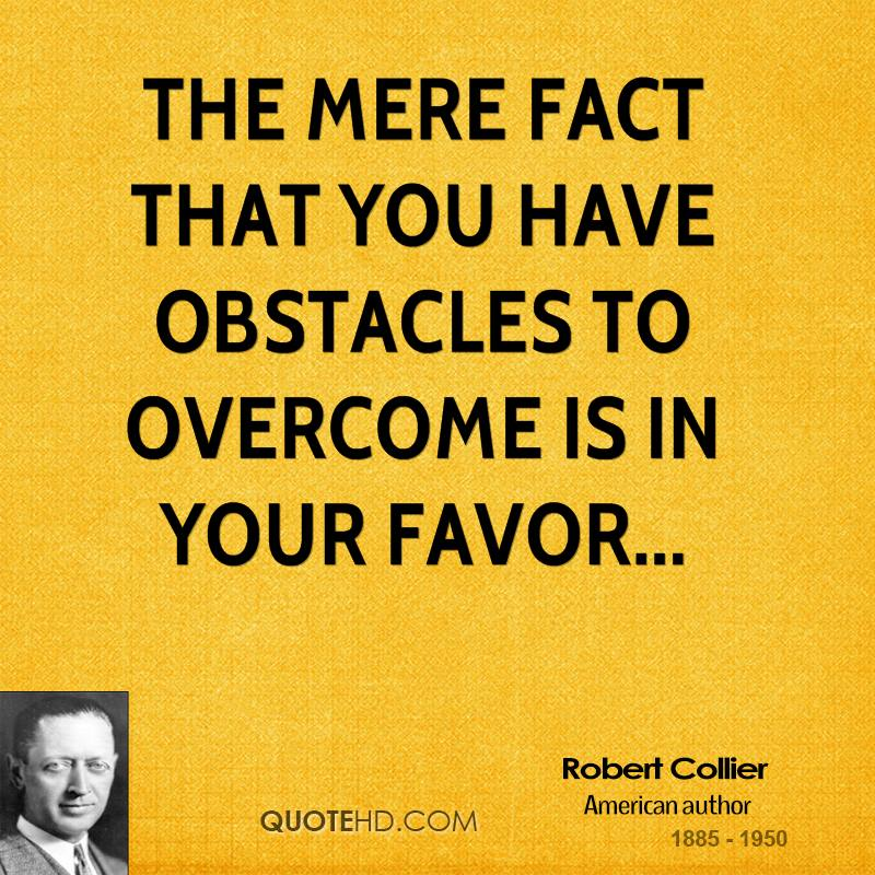 Funny Quotes About Overcoming Obstacles. QuotesGram