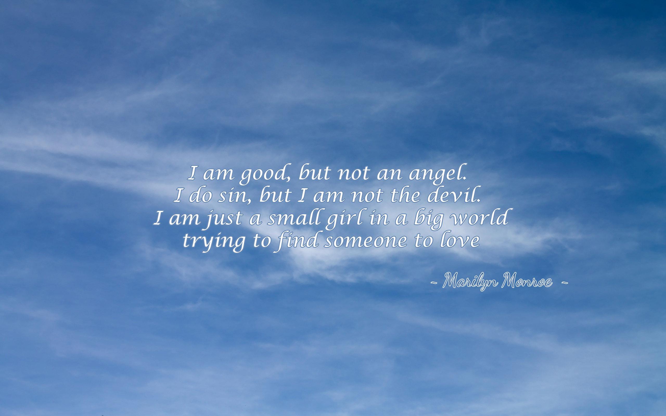 I Am Devil Quotes: Angel And Devil Quotes. QuotesGram