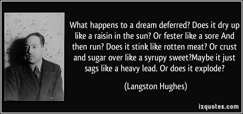 a raisin in the sun american dream thesis