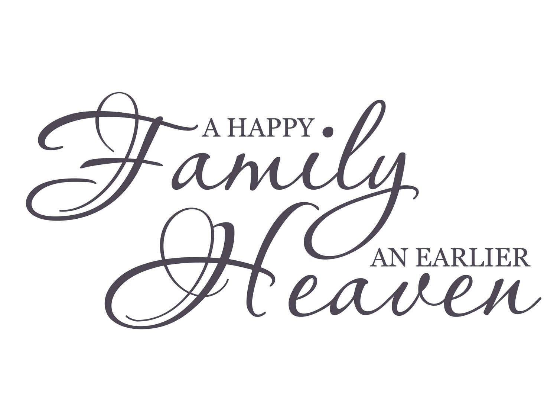 Happy Family Quotes. QuotesGram