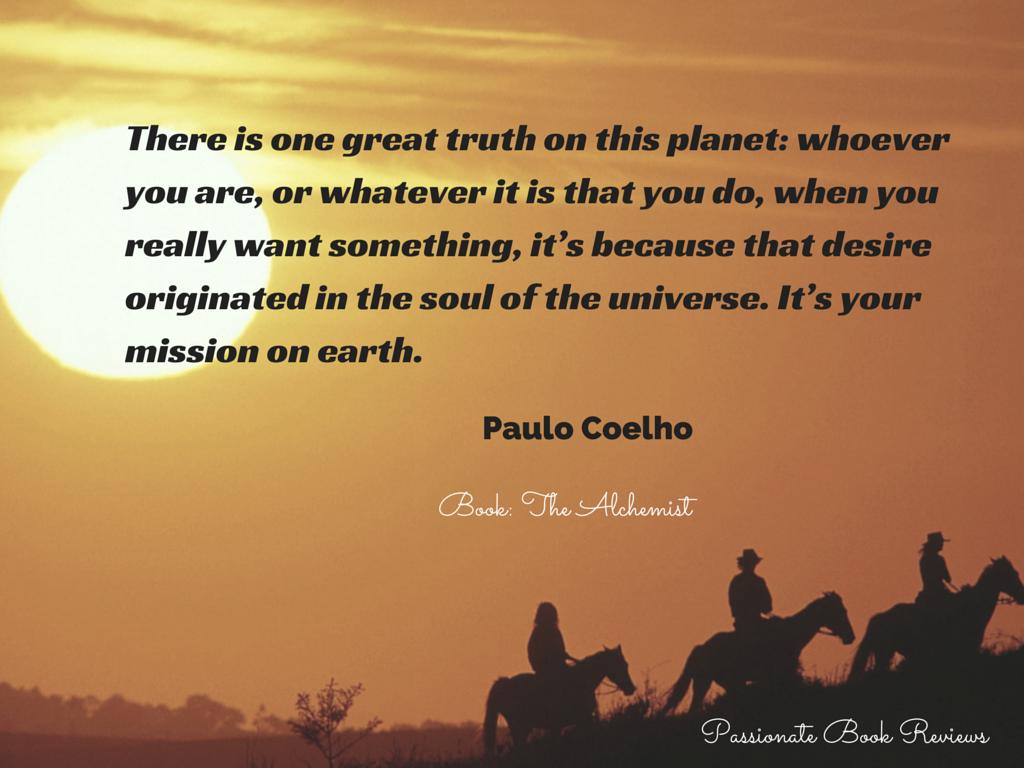 desert alchemist quotes