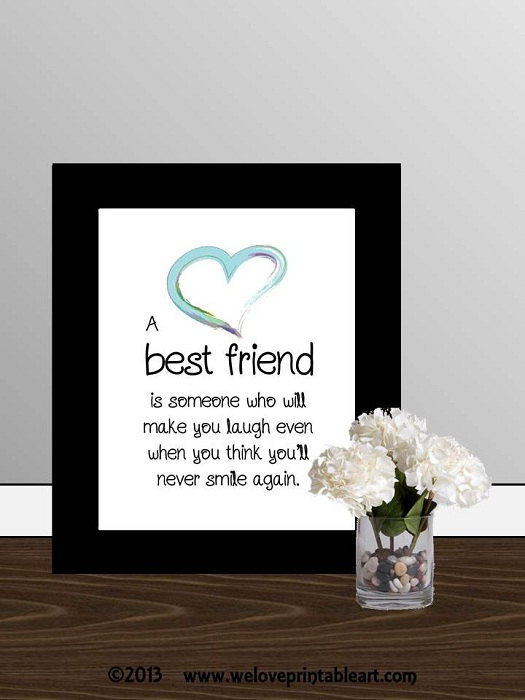 Printable Best Friend Quotes Quotesgram