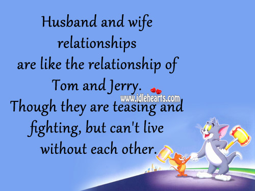 Husband Wife Relationship Quotes Quotesgram