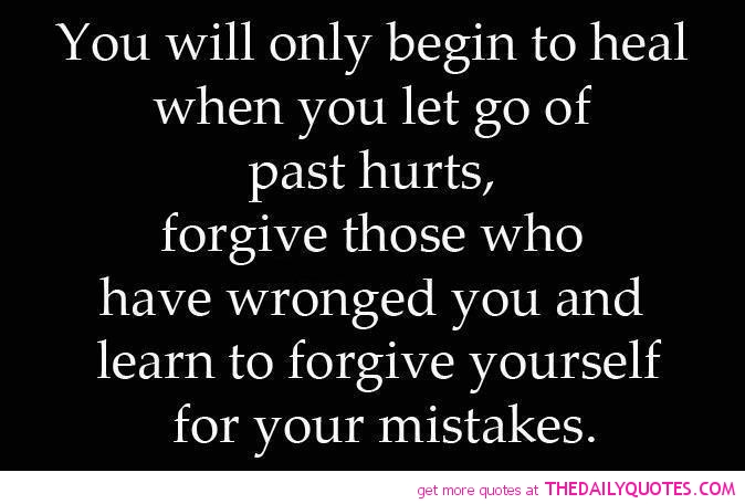 How to Let Go of Past Hurts