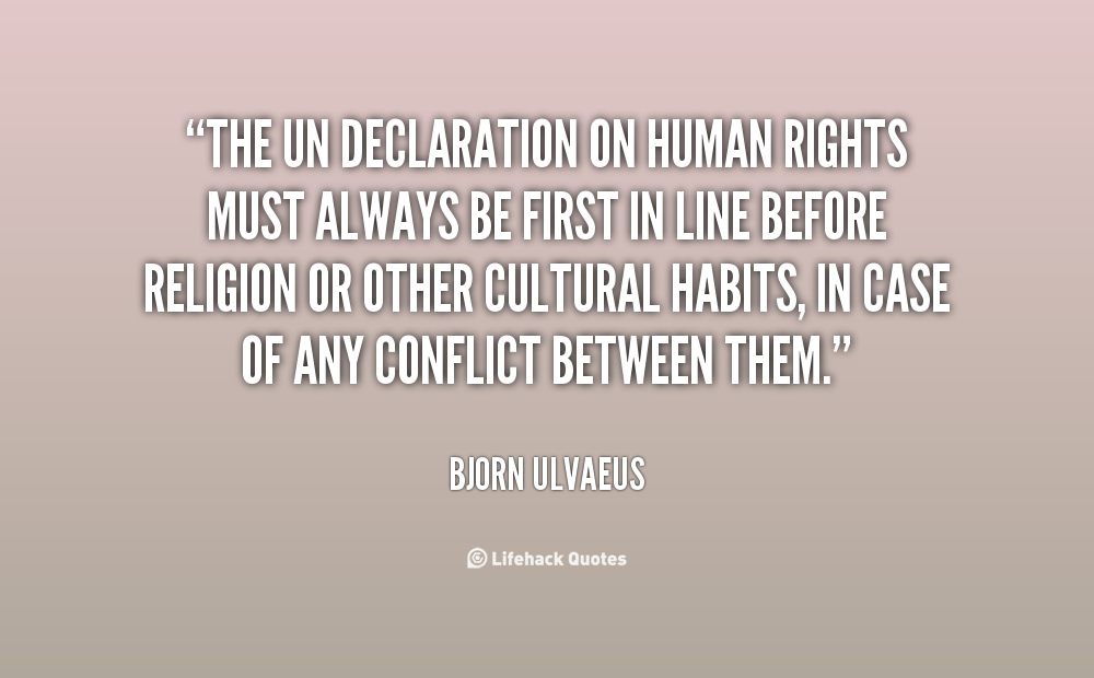 Famous Quotes On Human Rights. QuotesGram