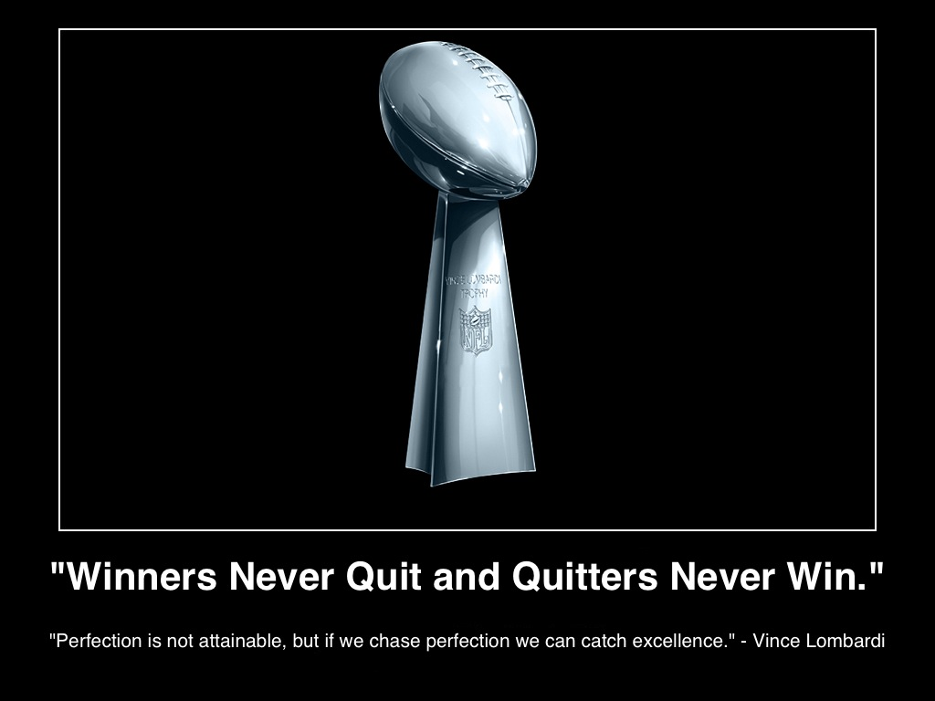 """essay winners never quit We have all heard expressions like """"boys don't cry,"""" """"winners never quit,"""" and  be sure that you turn in your outcomes assessment essay at the time ."""