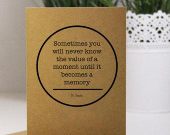 Memories Dr Seuss Teacher Quotes Quotesgram