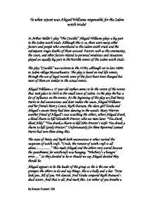 Williams essay