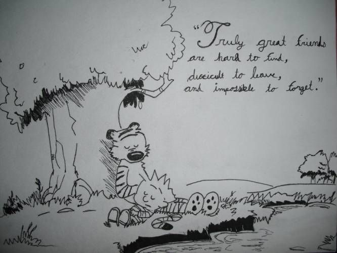 Calvin And Hobbes Inspirational Quotes. QuotesGram