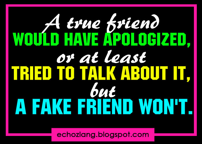 Simple Quotes About Friendship Tagalog : Fake friends quotes about and true quotesgram