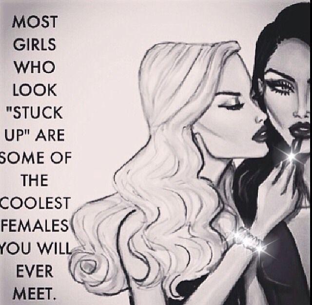 nn stuck up girls