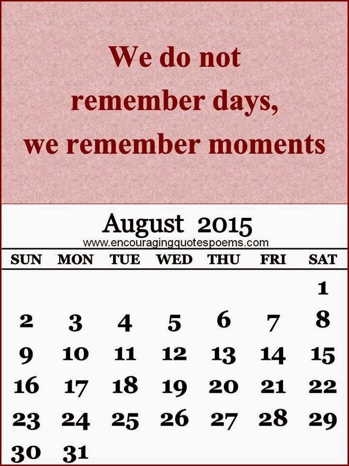 August Poems And Quotes. QuotesGram