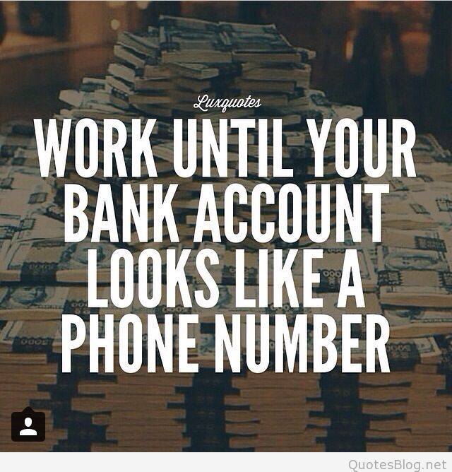 Inspirational Day Quotes: Bank Account Funny Quotes. QuotesGram