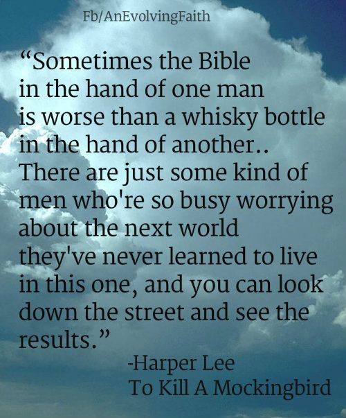 Harper Lee Quotes: Harper Lee Quotes Bible. QuotesGram